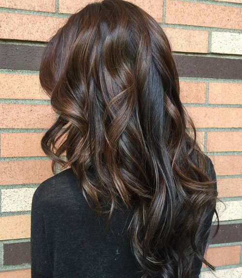 V-cut from front to back layers