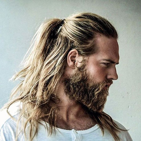 Blonde Hair, Thorin, Ponytail, Momoa, Men, Leto, Jared, Half, Beard