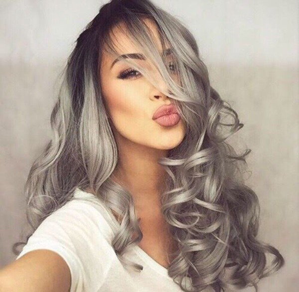 Gray hairstyles for a hot new look to try