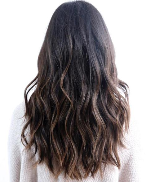 Low-maintenance Easy hairstyle for long hair