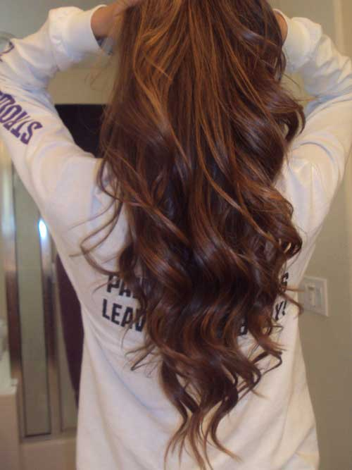 Hairstyles for wavy hair-12