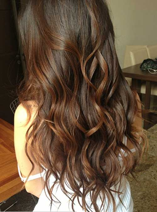Hairstyles for wavy hair