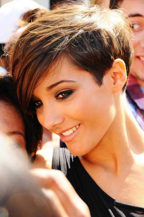 The Pixie Cut for thick hair
