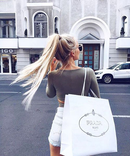 15 beautiful long straight ponytail hairstyles