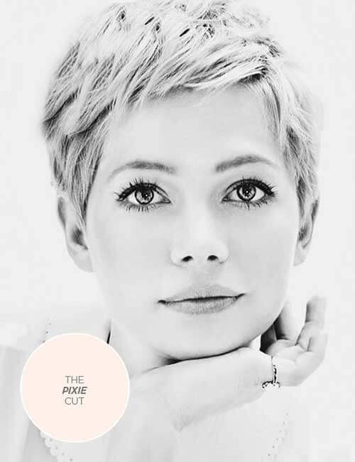 The Pixie for more volume to thin hair