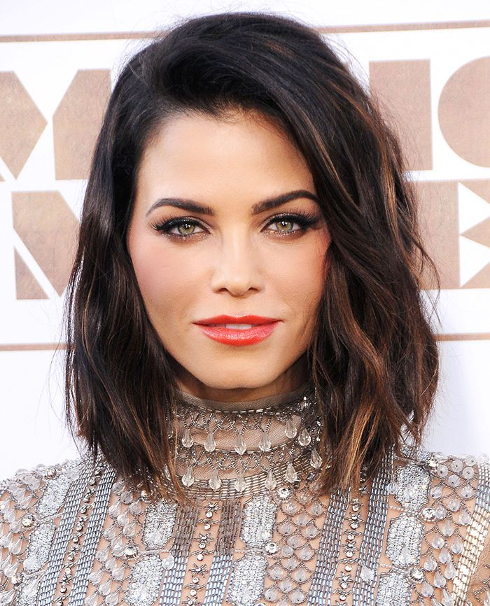 Jenna Dewan Tatum Brown Bob Hairstyles