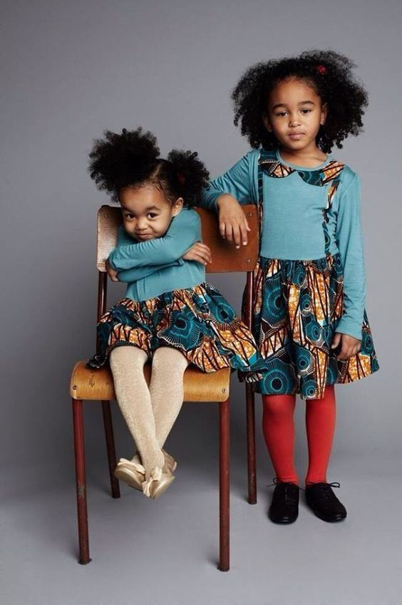 black children sweet Afro