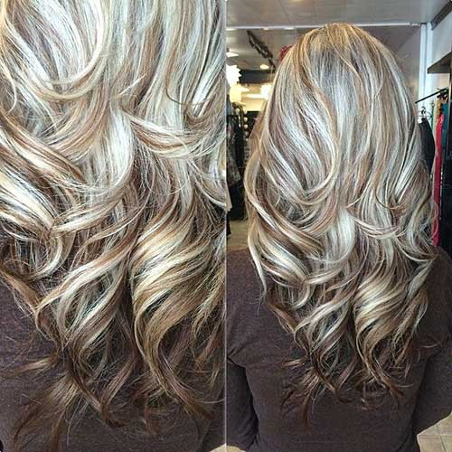 Long hairstyles with Balayage-12