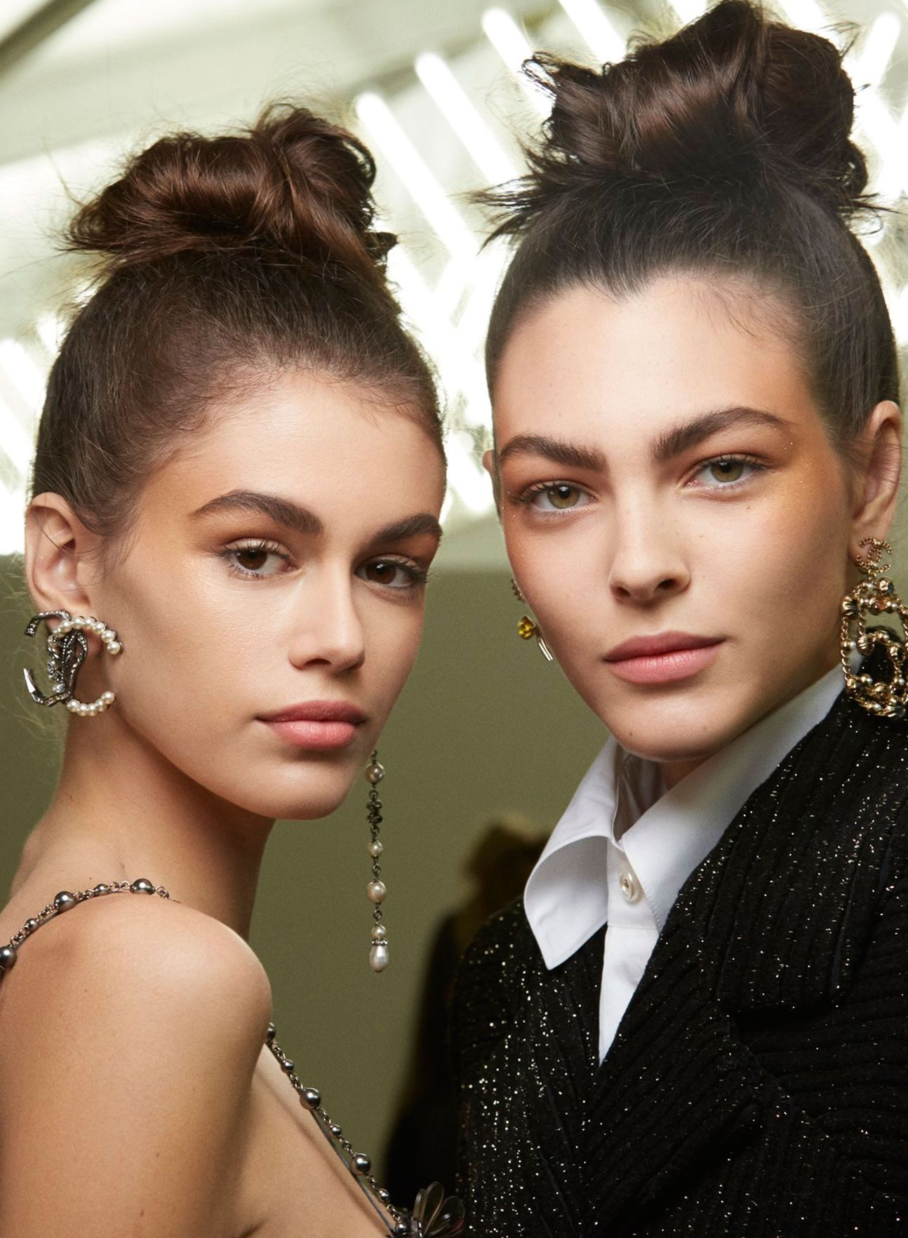 Chanel high upo hairstyles 2019 winter