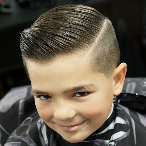 High taper + comb over