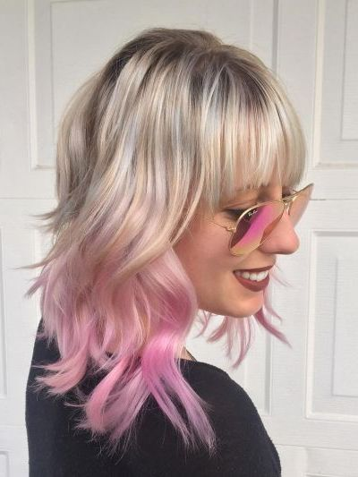 Wavy Ombre for fine, thin hair