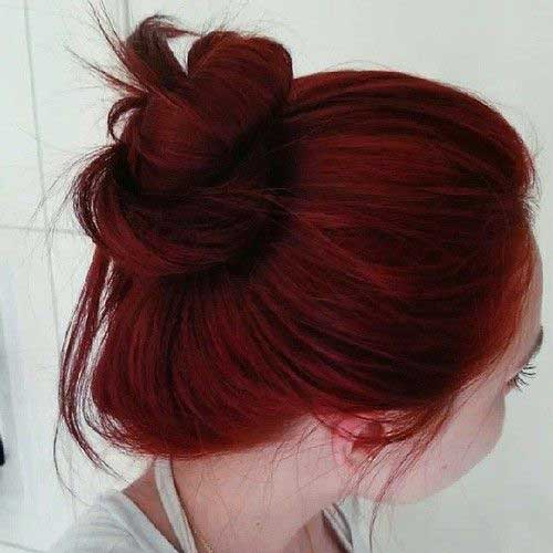 Dark Red Color 8 Hair