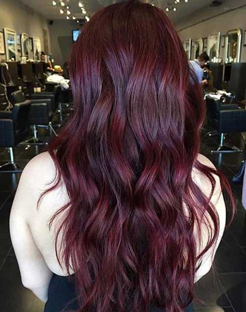 Dark Red Hair Color-10