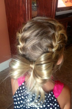 Party Bow Hairstyles for Kids