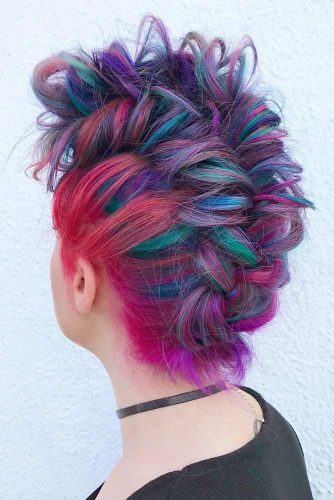 Coolest Faux Hawk Inspired Hairstyles for Women 2018