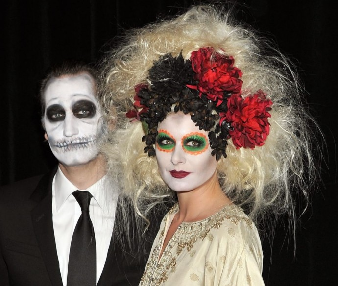 fearsome Halloween hairstyles