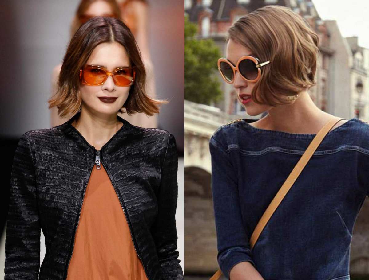 best wavy brown Bob hairstyles