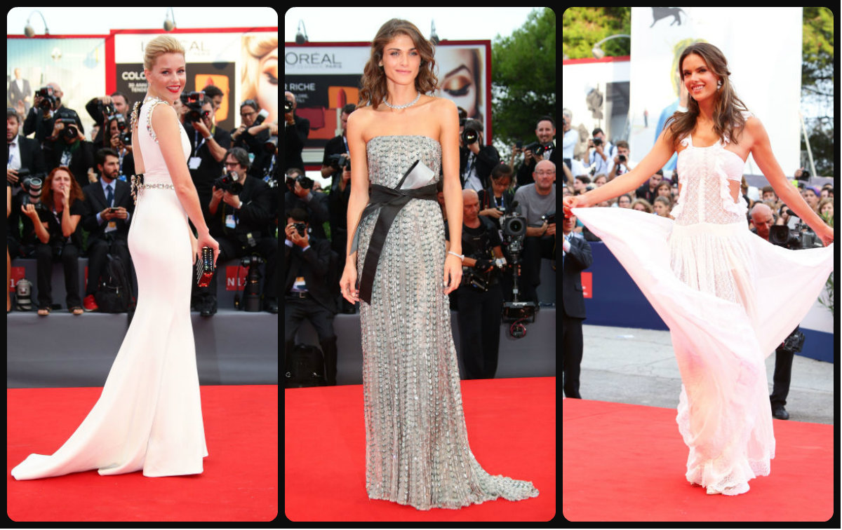 72nd Venice International Film Festival 2017 Hairstyles