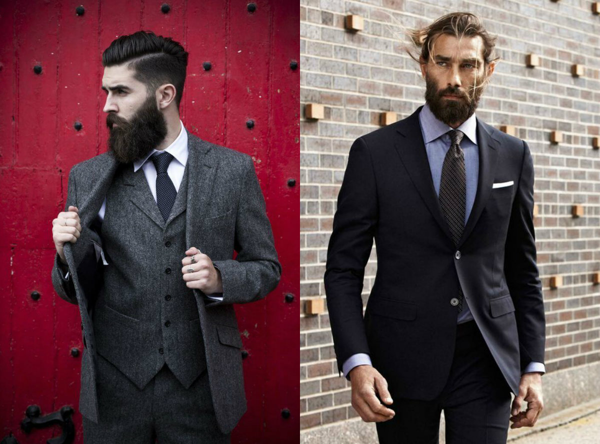 noble appearance for men with short hair beards 2019