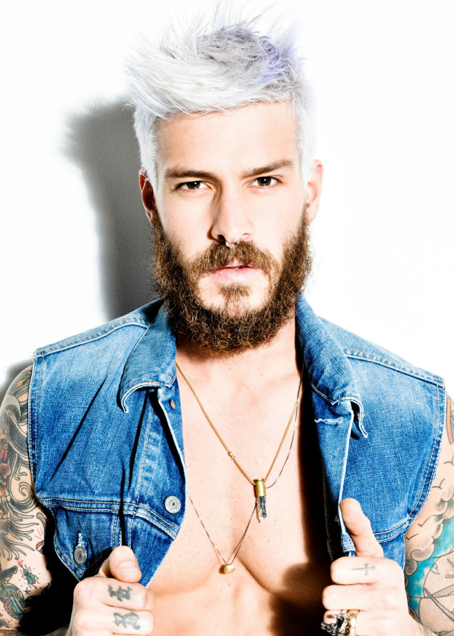 Platinum Blonde Hair Color For Men 2017 [19659021] Male Ice Blonde Hair </ figcaption> </ figure></p> <p> Male platinum blonde hair trends 2017 combined with giant wood beards make an insurmountable combination for your next look.  Trendy, lively, lively.  You get the look that will attract the attention of all ladies.  It is also a great way to express yourself, show your emotions and lifestyle.  Who said that men should not follow the trends?<br />  </ P><br />  <P><br />  </ P><br />  <Div></p> <p> <! - HD_inpost_3 /> </ p> </ div></p> <p> <span class =