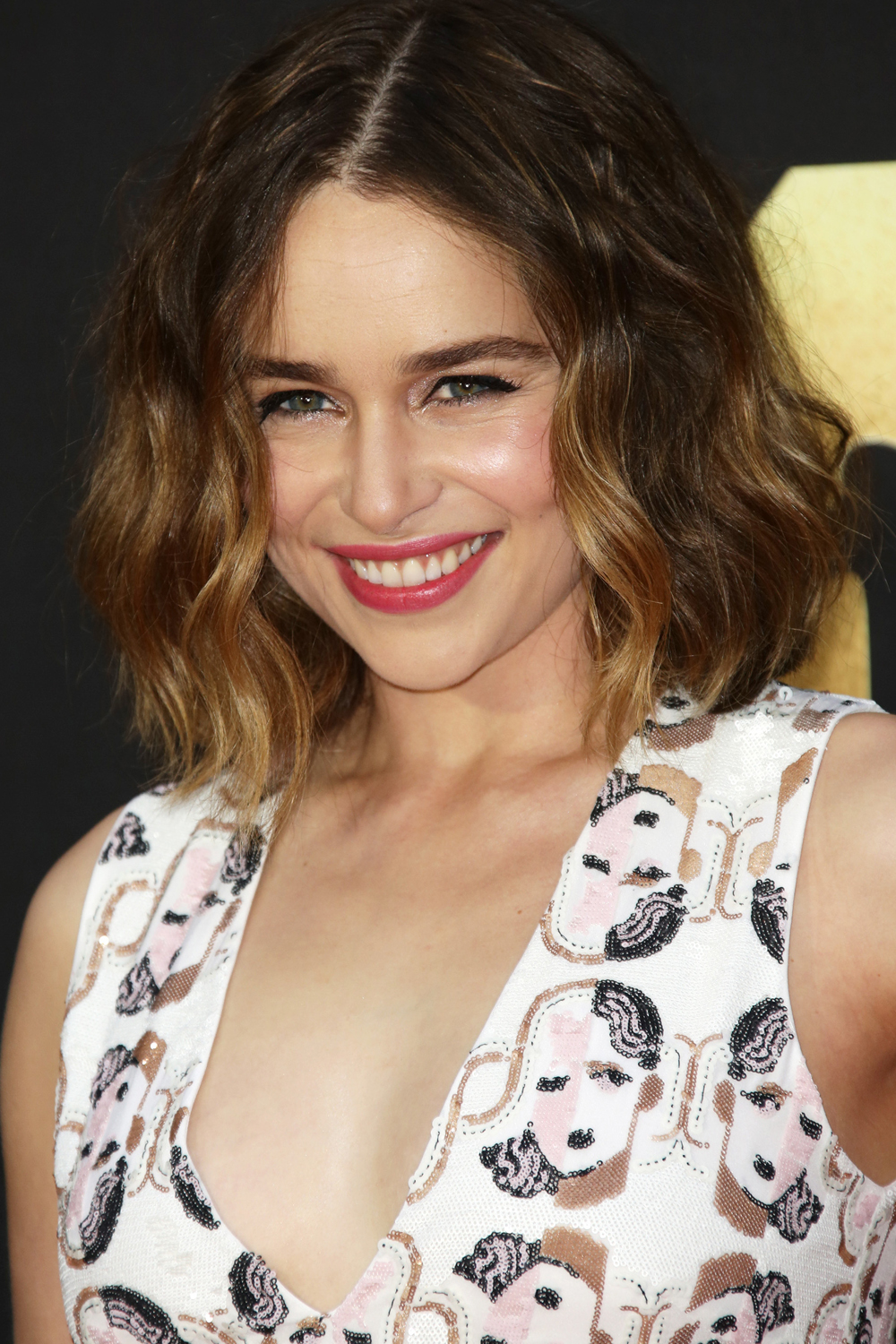 Emilia Clarke Brown Bob Hairstyles