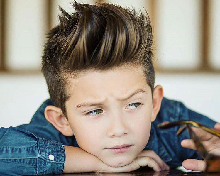 How to style boy hairs