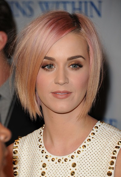 Katy Perry's Layered Bob Hairstyle