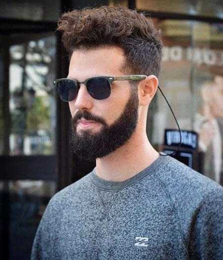 best middle haircuts for thick hair