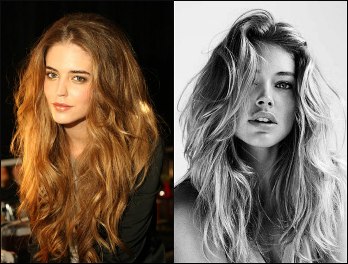 long messy bedhead hairstyles