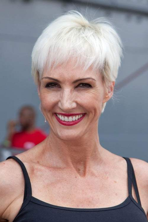 Amra Faye Wright Pixie Cut for older women are so beautiful too