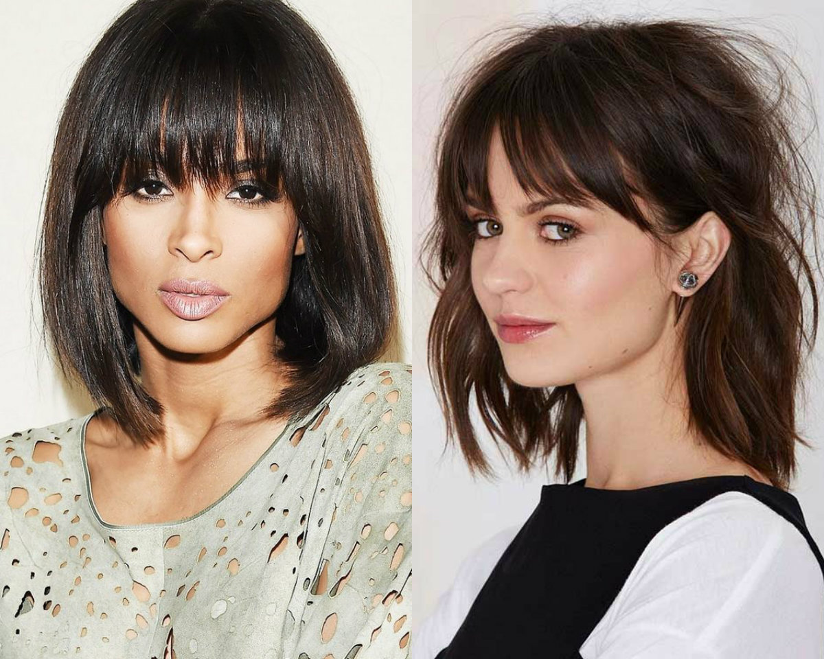Bob hairstyles with bangs