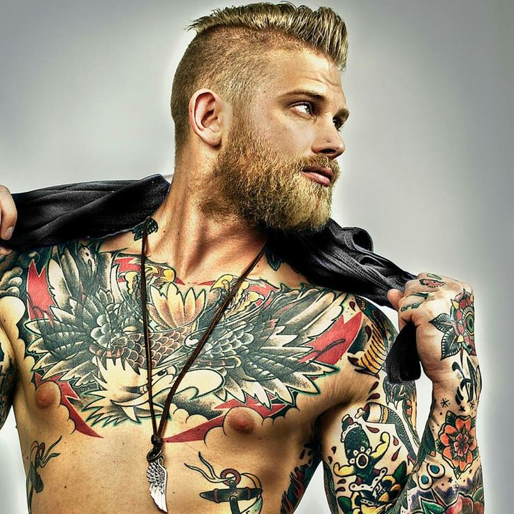short bland haircuts with beard for men