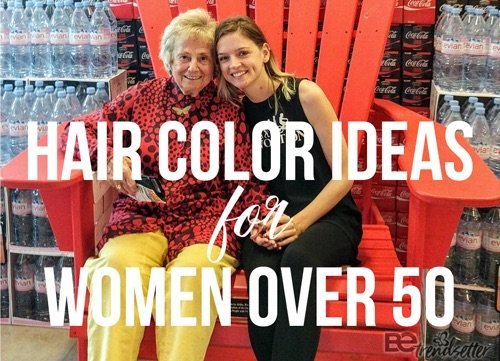 best hair color ideas for women over 50