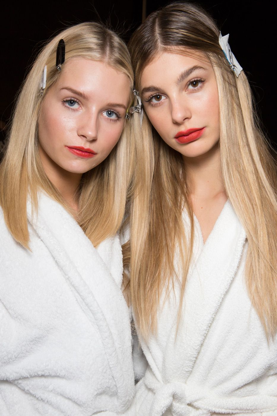 Smooth and straight hair Trends 2018 Spring Summer
