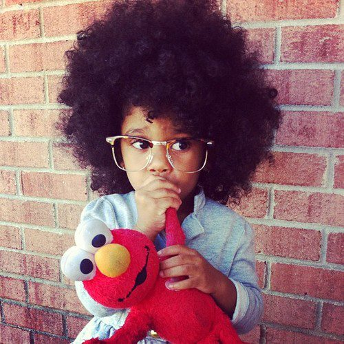 black kids stylish afro hairstyles