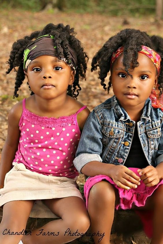 black children afro hairstyles with headbands