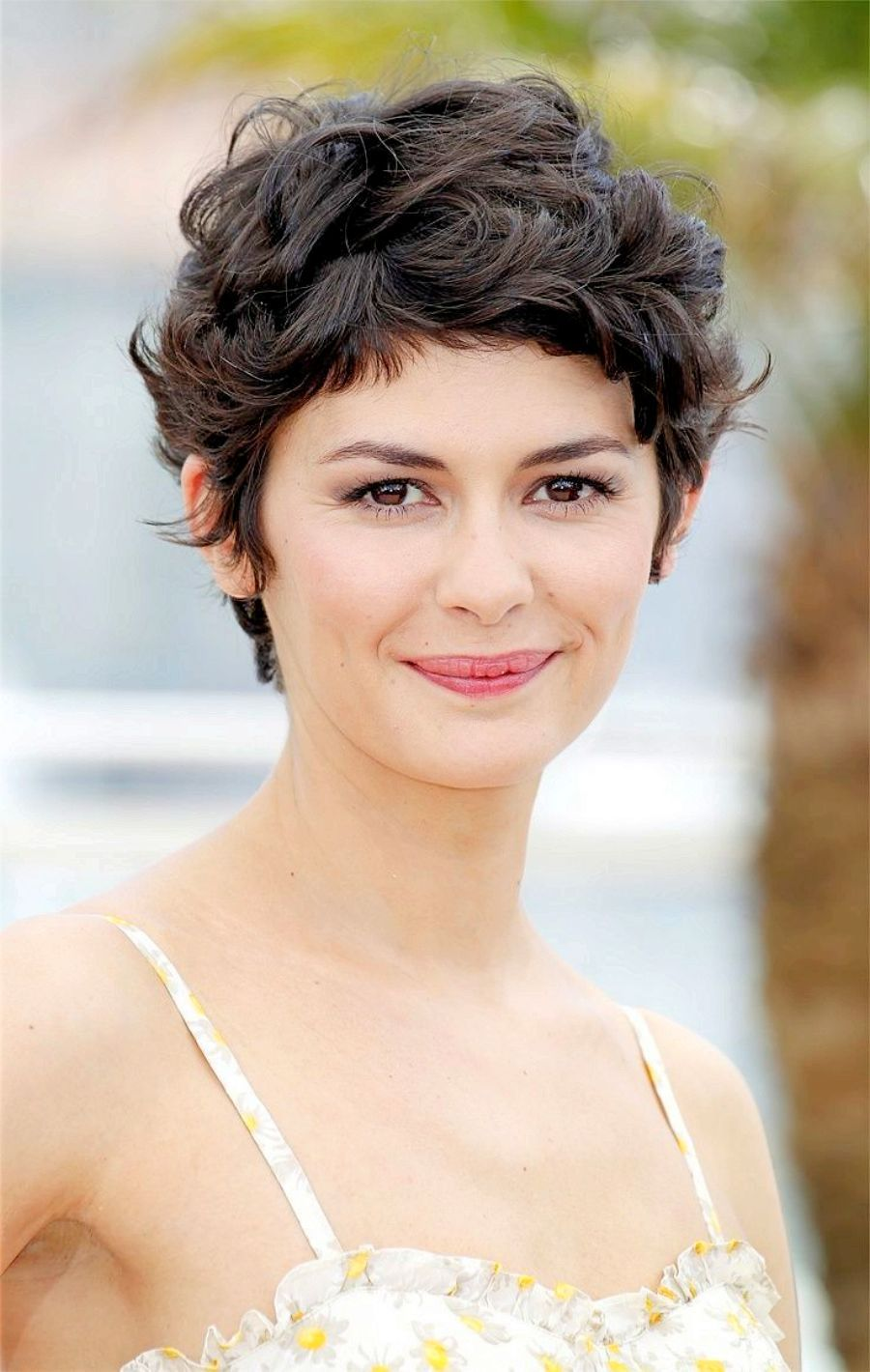 Beach waves on Pixie Audrey Tautou
