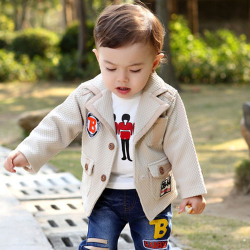 Cute Hairstyles for Baby Boys - Natural flowing long hair
