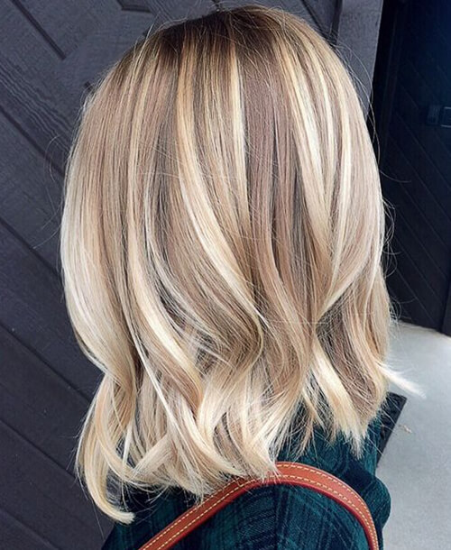 Precision Hair Highlights and Preppy Waves