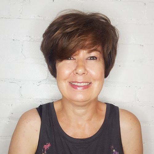 Over 50 short hairs for olive skin