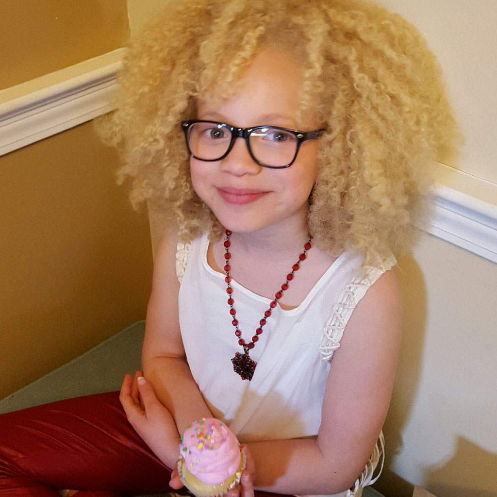 Moon child natural curly hair
