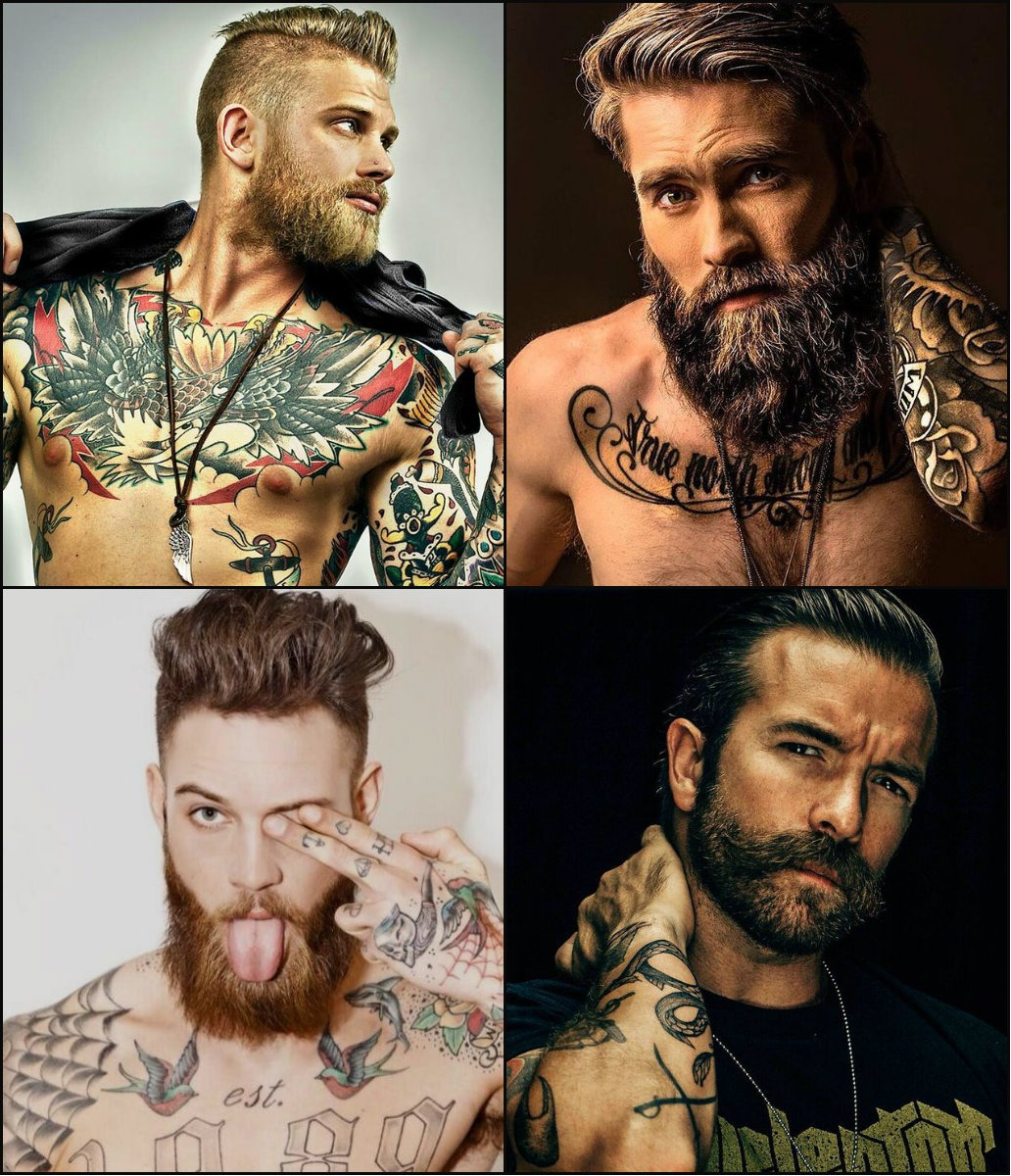 best men's hairstyles with beards 2018