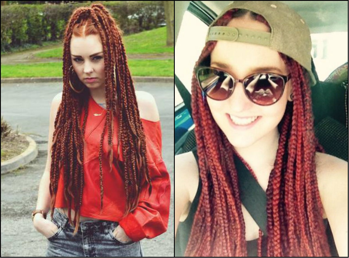 Red Box braids hairstyles-for-white-women