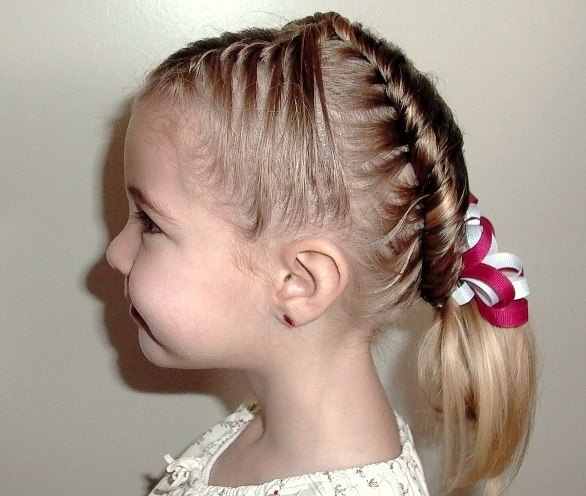 Pretty New Year hairstyles for girls