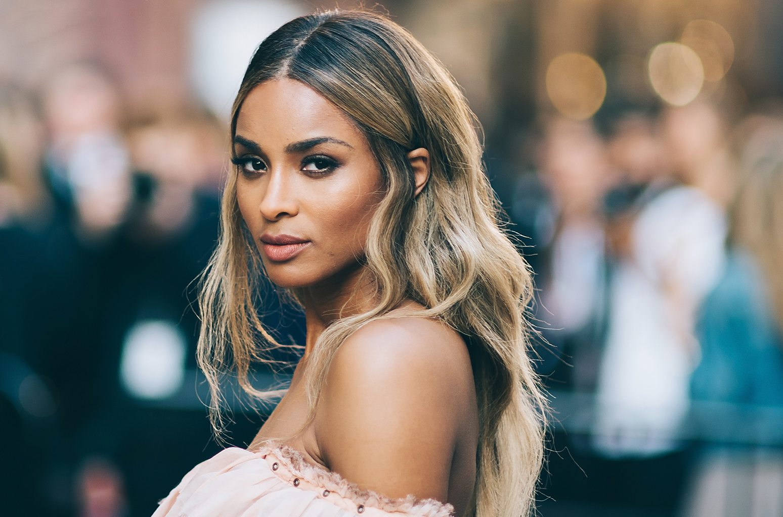 Ciara creamy autumn winter hair colors