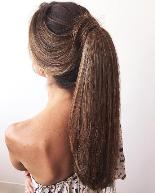 The 20 most seductive ponytail hairstyles