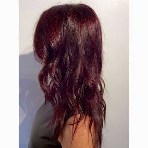 Dark red hair color-15