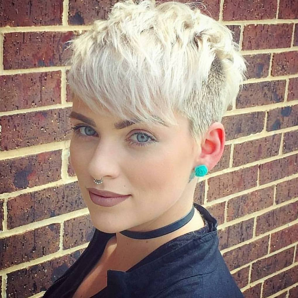 10 Trendy Daring Pixie haircuts, hairstyle and color for 2018