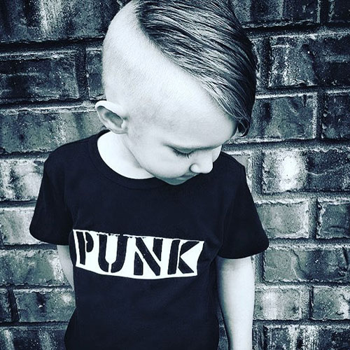 Cool Guys Haircuts - Shaved Page + Long Combs
