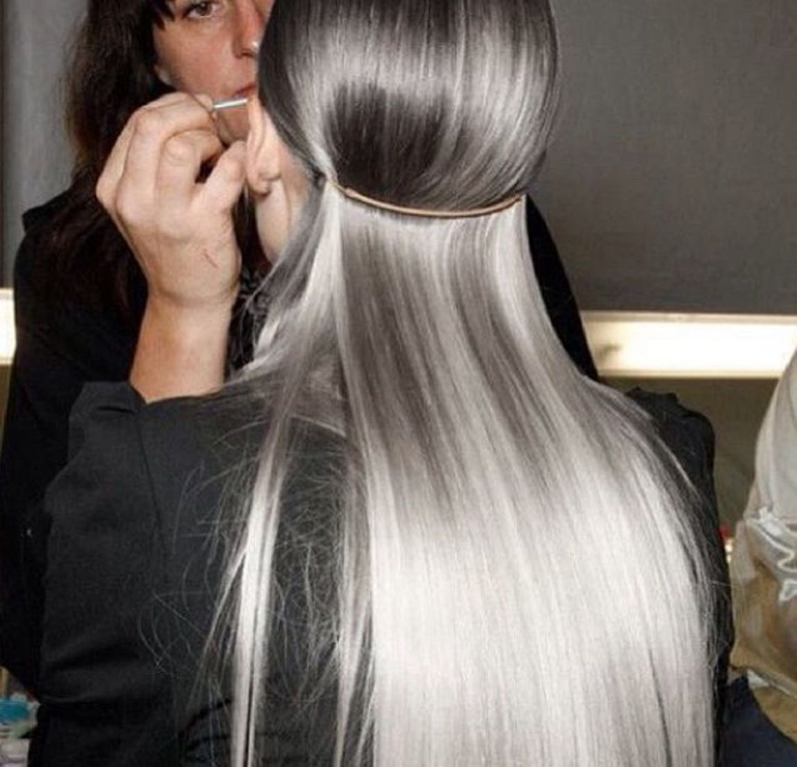 silver hair colors for the winter of 2018